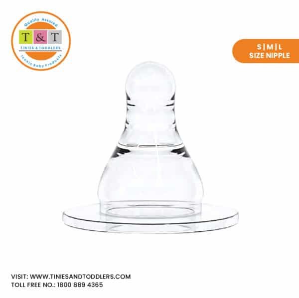 Tinies and Toddlers Silicone Nipple